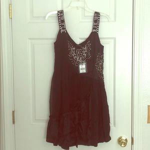 NWT Black Nanette Lenore mini dress